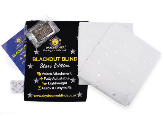 "Picture of Daydreamer ""Stars Edition"" Blackout Blind with VELCRO ® Brand Fasteners"